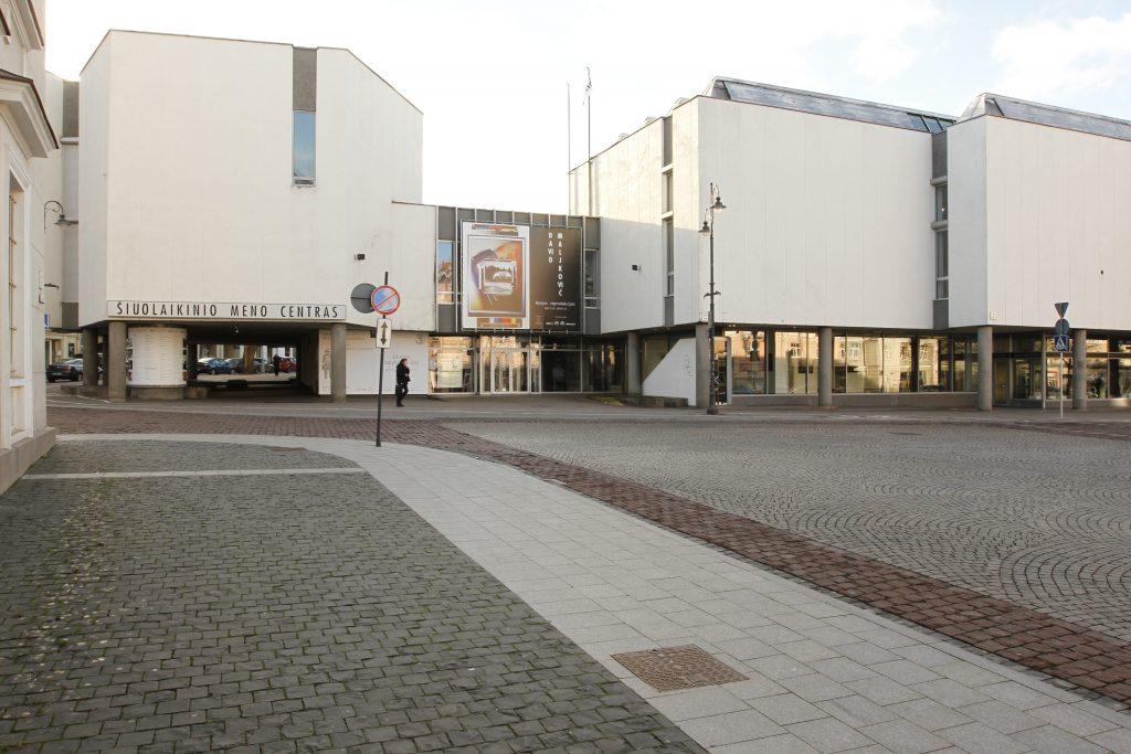 Facade of the Contemporary Art Center